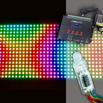 Interactive Pixel LEDs and Controllers